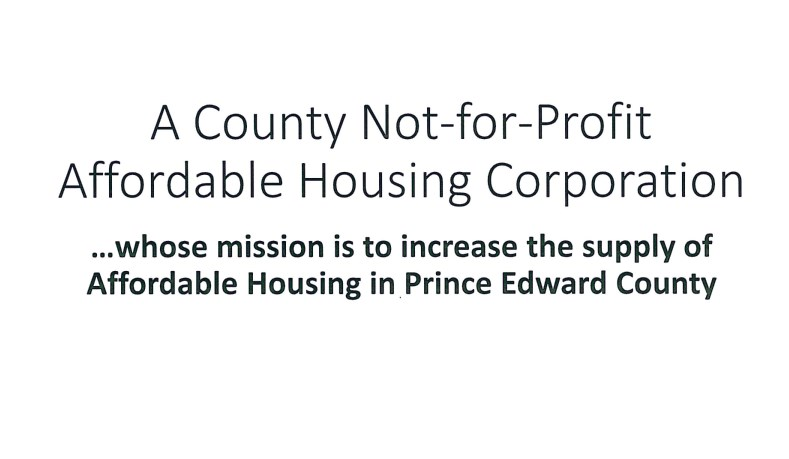 Prince Edward County Housing Corporation
